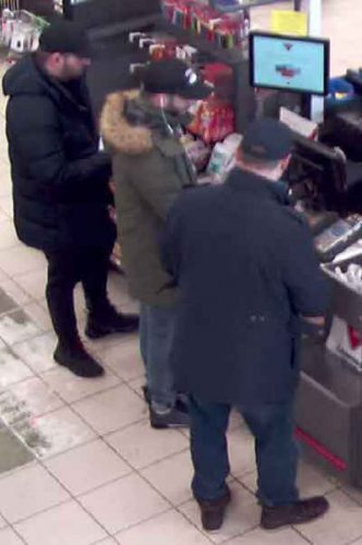 Thunder Bay Police have shared image of fraud and theft suspects