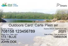 Ontario Outdoors Card