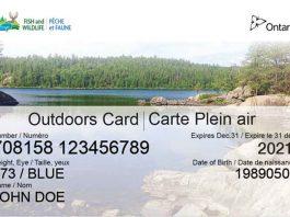 Ontario Outdoors Card