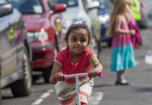 Children's physical activity levels are at an all-time low, with only one in five children getting the minimum recommended 1 hour a day of moderate to vigorous physical exercise. However, for the last 10 years a grassroots organisation called 'Playing Out' has been working hard to change this, allowing children across the UK to take back their streets. CREDIT Playing Out