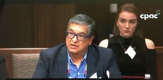 Grand Council Treaty #3 Grand Chief Kavanaugh speaking to Senate Committee