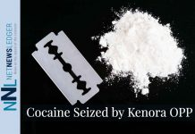 Almost a half a million dollars worth of cocaine has been seized by Kenora OPP
