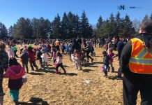 Hill City Kinsman's annual Easter egg hunt at Frank Charry Park