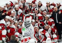 Toronto Young Nationals Celebrate 2019 TELUS Cup Victory