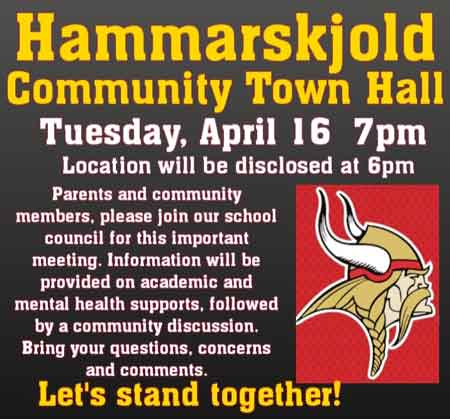 Hammarskjold Parent Meeting