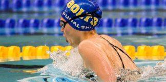 Thunderbolt Swimmer Lindsay Puhalski