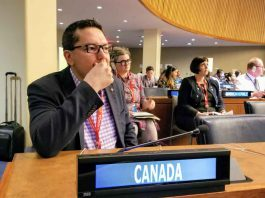 """Don Rusnak, Member of Parliament for Thunder Bay Rainy River, attended the 18th session of the United Nations Permanent Forum on Indigenous Issues this week in New York City. The Forum, held this year from April 22 to May 3, is a meeting of delegates from around the world who come together to discuss indigenous issues related to economic and social development, culture, the environment, education, health and human rights. The theme this year is """"Traditional knowledge: Generation, transmission and protection"""". The Forum is a valuable opportunity for Canada to maintain its leadership role in the world as an important partner in promoting the human rights and dignity of all people around the globe. Rusnak participated in discussions surrounding issues such as Indigenous languages preservation, rights recognition, environmental conservation and and the protection of traditional knowledge and traditional cultural expressions. Maintaining Canada's strong presence on the international stage creates opportunities at home, and brings more opportunities for economic growth and development to all the communities of Thunder Bay--Rainy River. Quotes """"It was an honour to attend the United Nations Permanent Forum of Indigenous Peoples in New York this week alongside several of my colleagues. This year's theme of Traditional Knowledge allowed for the forum to have some important conversations about language preservation and the protection of traditional knowledge and traditional cultural expressions. Maintaining Canada's strong presence on the global stage creates opportunities at home, and I look forward to building on the relationships forged during the Forum to create new benefits for all the communities of Thunder Bay Rainy River."""" -Don Rusnak Member of Parliament for Thunder Bay—Rainy River"""