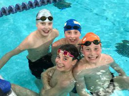 Thunderbolts Swim camp helped build skills