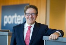 Robert Deluce is now the Executive Chairman at Porter Airlines