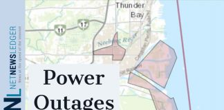 Synergy North Reports Power outages in Thunder Bay