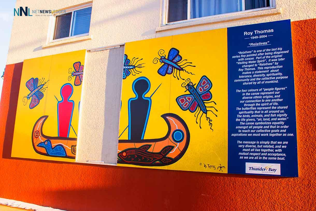 Roy Thomas Mural at Shelter House