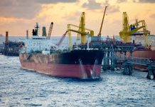 Oil Tankers unloading