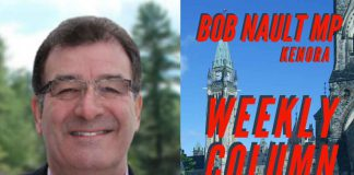 Bob Nault MP Weekly Column