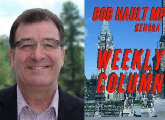 Bob Nault MP Weekly Column