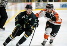 Thunder Bay North Stars fell to the Hearst Lumberjacks