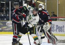 North Stars drop DHC Opener to Cochrane Crunch