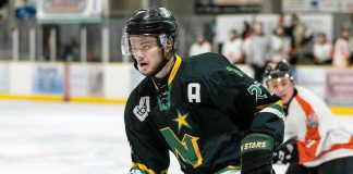Keighan Gerrie (F), Thunder Bay North Stars (SIJHL) = Christian Bender, DHC Images