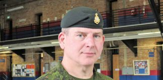 Lieutenant-Colonel Matthew Richardson commands the Canadian Rangers of Northern Ontario.
