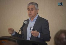 Mayor Bill Mauro at Town Hall Meeting at the Victoria Inn on May 13 2019