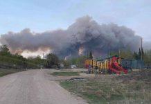 Smoke impacting the region