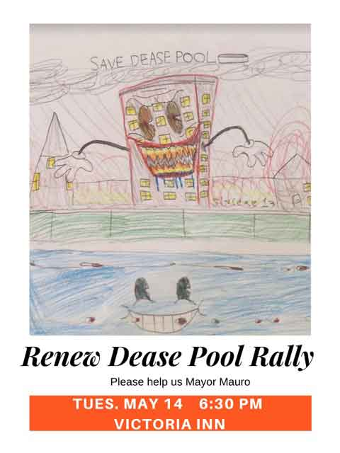 Renew Dease Pool Rally