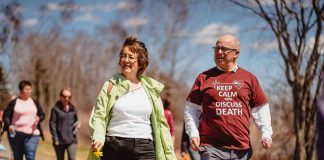 The 8th Annual Hospice Walk was a tremendous success - image supplied