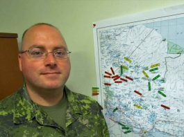 John McNeil - Photo by Sgt Peter Moon