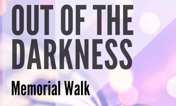 Out of Darkness Memorial Walk