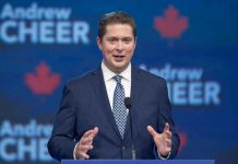 Conservative Party Leader Andrew Scheer