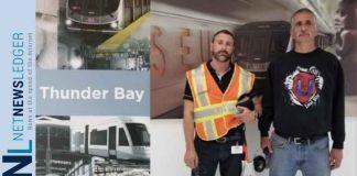 Liberal Candidate David Bruno at Bombardier