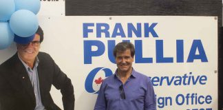 A very successful campaign office opening for Thunder Bay Superior North Conservative Frank Pullia