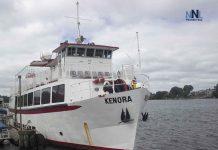 Kenora Harbour - MV Kenora