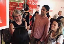 Liberal incumbent Patty Hajdu has opened her campaign office