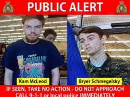 RCMP Handout on BC Homicide Suspects