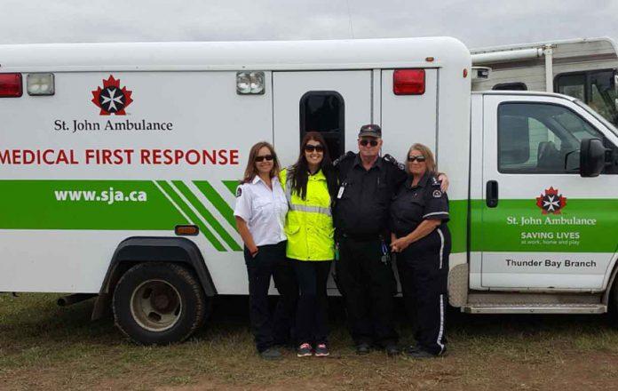Pikangikum First Nation Directs Thunder Bay Good Neighbour Fund to St. John Ambulance