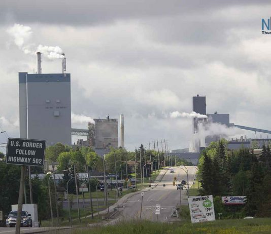 Resolute Mill in Dryden Ontario