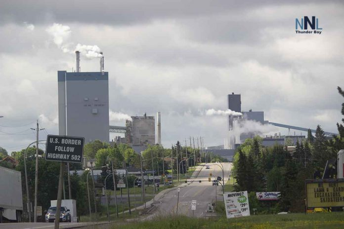 Resolute Mill in Dryden Ontario