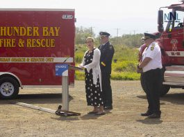 Parliamentary Secretary Hogarth makes announcement in Thunder Bay