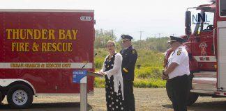 Parliamentary Secretary Hogarth makes announcement in Thunder Bay