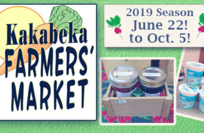 Kakabeka Falls Farmer's Market - Saturdays from 9:30 am - 12:30 pm