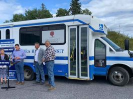 Kenora will get an investment of $95k for Handi-Transit