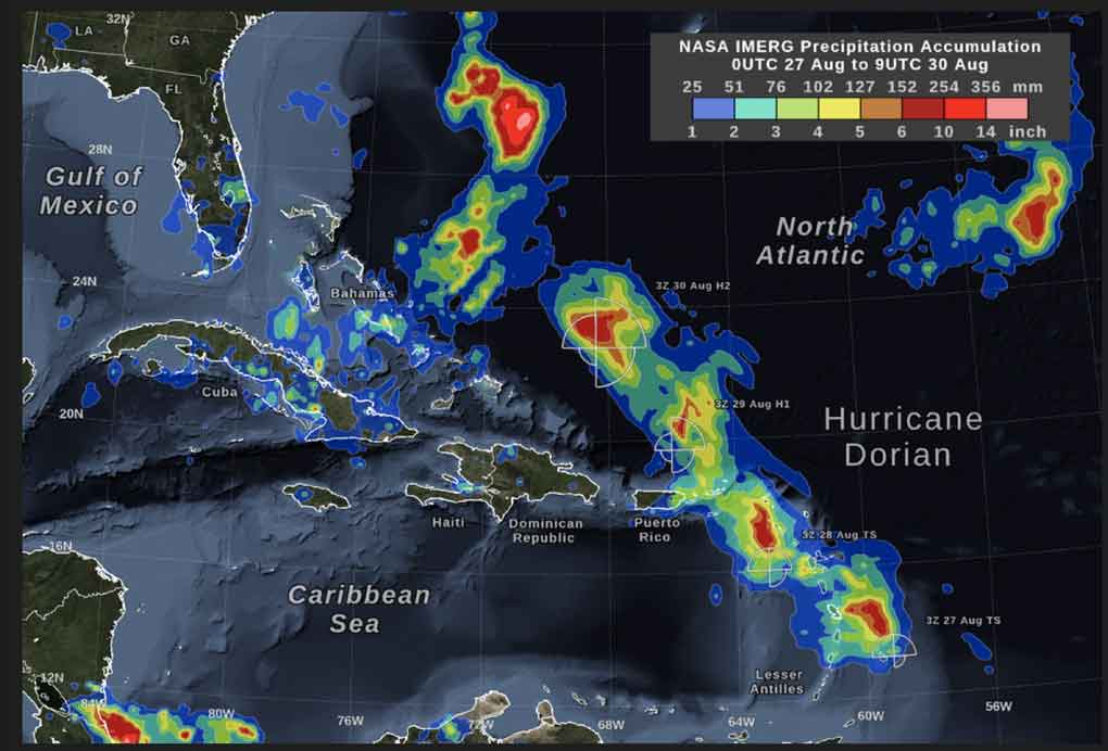 Hurricane Dorian lashes Bahamas, a million evacuated along US east coast