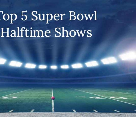 Top five Super Bowl Halftime Shows