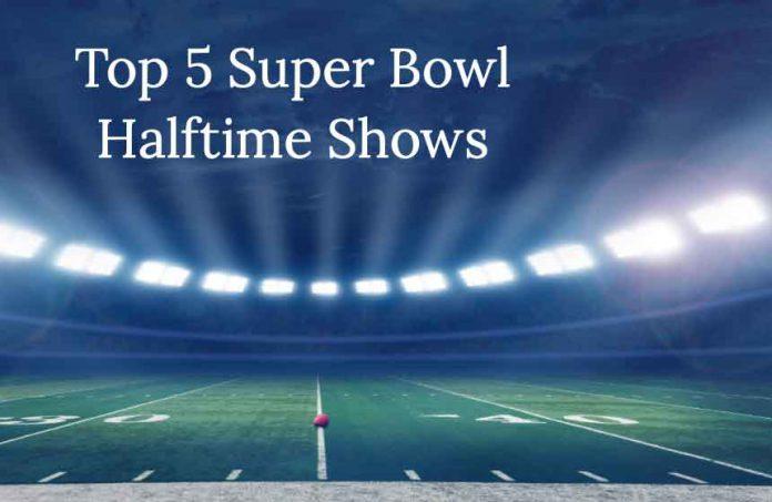 Top five Super Bowl Halftime Shows