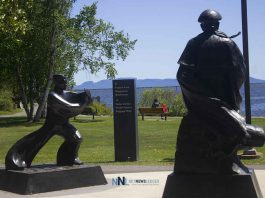 Tai Chi park in Thunder Bay Ontario
