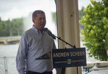 Andrew Scheer - Conservative Party Leader in Kenora