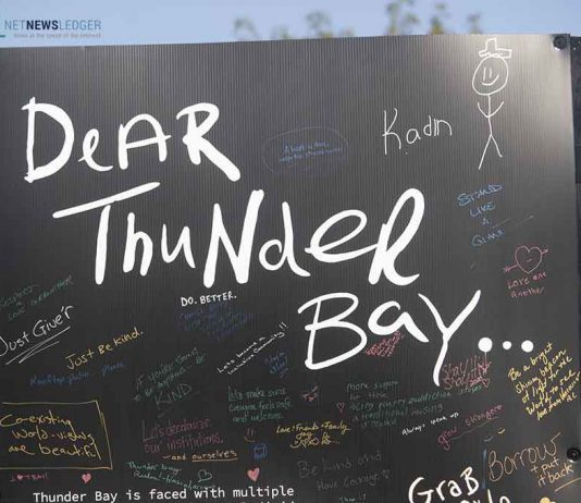 Dear Thunder Bay...