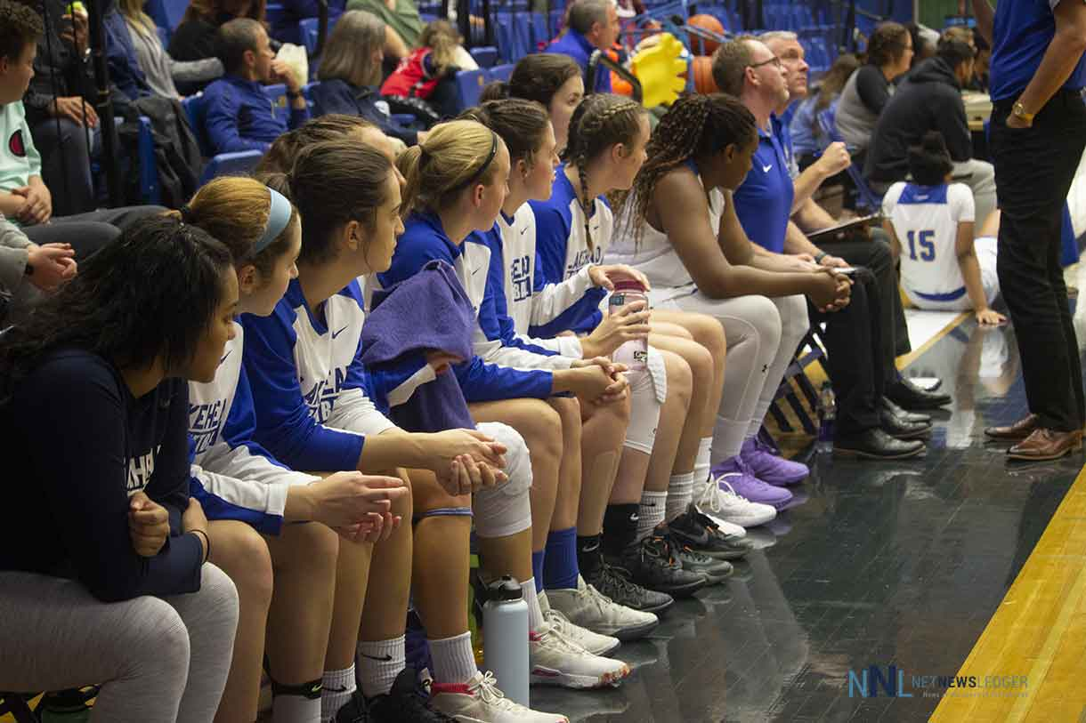 In the opening pre-season game the Lakehead women were able to get a full measure of how the team can play