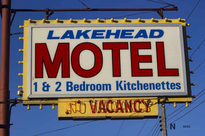 The Lakehead Motel on North Cumberland Street