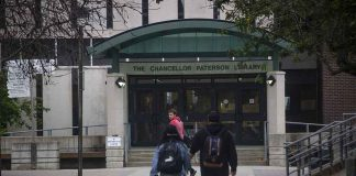 Chancellor Paterson Library at Lakehead University in Thunder Bay